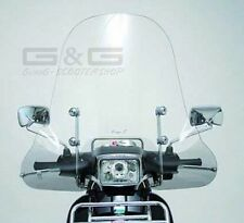 Screen Windscreen Faco Clear Glass High Piaggio Vespa S 50 125 150