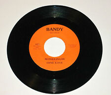 ERNIE K-DOE MOTHER IN LAW BANDY 45 RECORD VG+