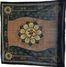 "Om Lotus Altar / Tarot Cloth 36"" x 36"" 100% Cotton"