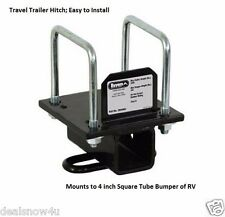 Universal Hitch Bumper Mount Travel Trailer 5th Wheel Accessories Towing RV Camp