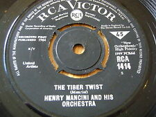 """HENRY MANCINI & HIS ORCHESTRA - THE TIBER TWIST / HOW SOON      7"""" VINYL"""