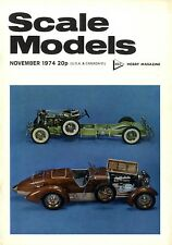 SCALE MODELS MAGAZINE 1974 NOV BOEING P-26 PEASHOOTER, VICKERS WELLINGTON