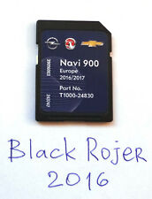 Navi 900 / Navi 600 LATEST Map FULL Europe 2017 SD Card Opel Vauxhall Chevrolet