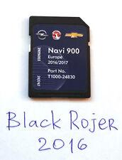 Navi 900 / Navi 600 LATEST Map FULL Europe 2017 SD Card Opel Vauxhall Chevrolet