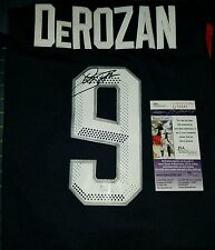 Demar Derozan (USA) Signed Olympic  Jersey Size XL in Person. JSA CERTIFIED