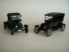 Danbury Mint Limited Edition 1925 Ford Model T Roadster and Touring Car 1:24