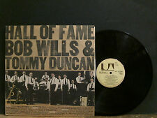 BOB WILLS & TOMMY DUNCAN  Hall Of Fame   DBL LP     Lovely copy !!