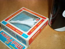 CONCORDE AIRLINER TOY, BACHMANN BRO.-- MINI PLANES, 1970's, VINTAGE