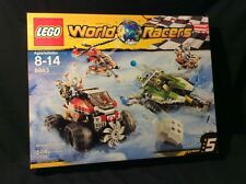 Lego World Racers #8863 BLIZZARD'S PEAK  New MISB 2010