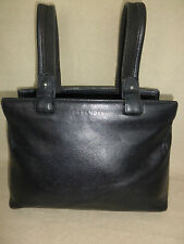 AUTH. VTG JIL SANDER PEBBLED/TEXTURED LEATHER BAG HANDBAG PURSE UNUSUAL DETAIL