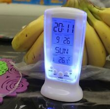 Frozen Ice Led Digital Alarm Bedside or Desk Office Clock