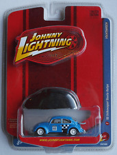 Johnny Lightning – VW Käfer Rallye blau + Haube Neu/OVP