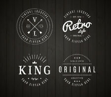 CUSTOM RETRO LOGO DESIGN