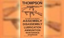 Thompson SMG .45 Do Everything Gun Manual Book Guide