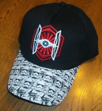 STAR WARS First Order Stormtrooper TIE Fighter Snapback Baseball Hat NWT