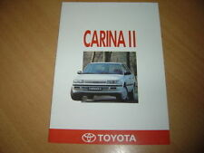 CATALOGUE Toyota Carina II de 1991
