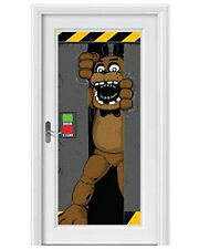 Five Nights At Freddy's Door Cover Birthday Party Decoration 2.25' x 5'