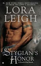 Stygian's Honor by Lora Leigh (2012, Paperback)