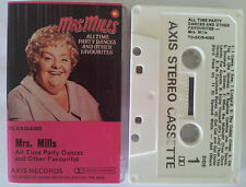 MRS MILLS ALL TIME PARTY DANCES AND OTHER FAVES OZ (PINK COVER) CASSETTE TAPE