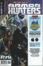 ARMOR HUNTERS 1 MIDTOWN VARIANT FCBD 2014 NM GIVEAWAY PROMO FREE COMIC BOOK DAY