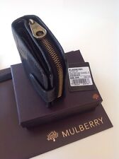 Beautiful Mulberry  Vintage Black Congo Leather  Purse / Wallet