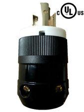 UL Listed Generator Power Locking NEMA L5-20P Twist-Lock Plug 20A 125V,2P 3W