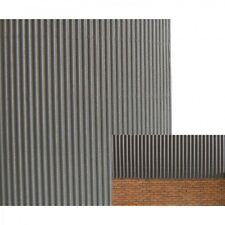1/35 Scale corrugated Iron Sheets (15 Pack)  Grey plastic