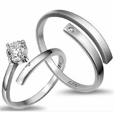 Lover Promise Rings Jewelry Couple Rings Set Wedding Ring Engagement Ring