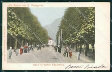 Bergamo San Pellegrino cartolina QT0684