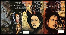 X FILES ~ TOPPS COMICS ~ COLLECTION VOLUME 1 + 2 SPECIAL COLLECTORS ISSUE 0