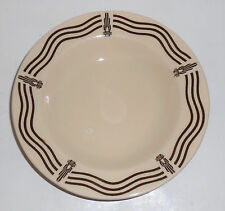 Iroquois China Restaurant Ware Art Deco High-Power Transmission Rimmed Soup Bowl