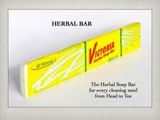 VICTORIA HERBAL Laundry Soap Bar (400g) Coconut Oil Based, Citronella, Patchouli