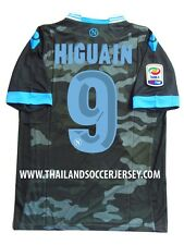 HIGUAIN #9 NEW SSC NAPOLI AWAY CALCIO 2013-14 FOOTBALL SHIRT JERSEY Size M