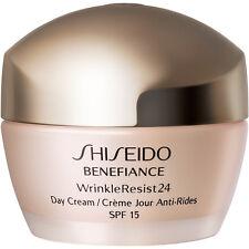 SHISEIDO  Benefiance WrinkleResist24 Day Cream Broad Spectrum SPF15  50ml 1.8oz