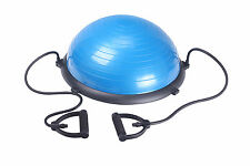 balance training aid with handles and pump