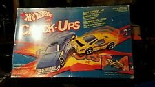 Hot Wheels Crack Ups Crash Patrol & Smasher Set 1983 italian box wow sealed!