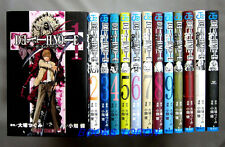 DEATH NOTE 1-12 Comic Complete set + How to Read Book 13(w/Card)/Japanese Manga