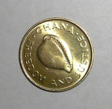 1984 Ghana 1 cedi Cowrie shell animal coin