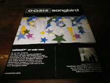 OASIS - Publicité de magazine / Advert !!! SONGBIRD !!! UK
