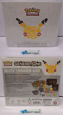 Go Game Pokemon INGLESE Nuovo New Set Generations Generazioni ELITE TRAINER BOX