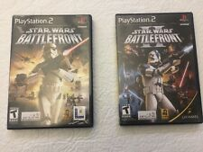 Star Wars Battlefront PS2 Star Wars Battlefront 2 Star Wars Battlefront II PS2