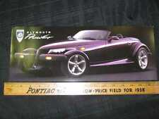1997 Plymouth Prowler Folder Sales Brochure