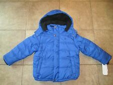 NWT Calvin Klein Little Boys Puffer Winter Coat Jacket Size Large 5/6