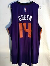 Adidas Swingman 2015-16 NBA Jersey Suns Green Purple sz XL