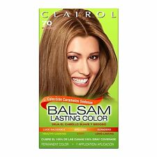 Clairol Balsam Hair Color #70, Medium Ash Blonde