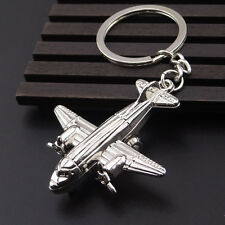 Fashion 3D Alloy Key Chain Ring Pendant Air Fighter Collectable Gift Creative