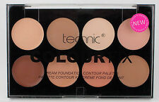 Technic COLOUR FIX Cream Foundation Matte Contour Palette Highlight Face Shaper