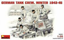 MIN35021 - Miniart 1:35 - German tank crew (Winter 1943-1945)