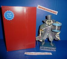 Disney Parks The Haunted Mansion Hat Box Ghost Statue/Figurine by Jim Shore