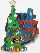 Disney Christmas time in the City Tree Trimmer Goofy Artist Proof Version AP Pin